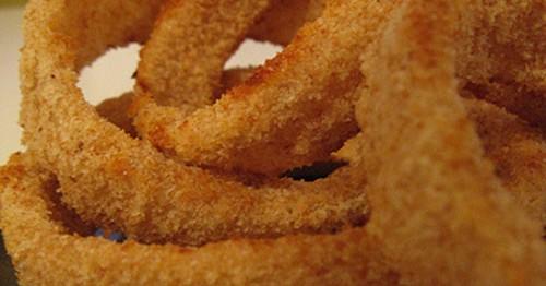 Anelli di Cipolla Al Forno - Ricette Vegetariane