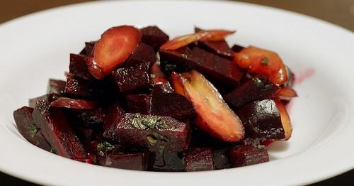 Insalata di Carote e Barbabietole Arrosto - Ricette Vegetariane