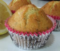 Muffin ai semi di papavero e limone