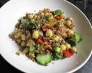 Quinoa con ceci e pomodori