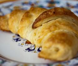 Croissant vegan senza burro e uova