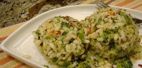 Risotto con Broccoli e Limone - Ricette Vegetariane